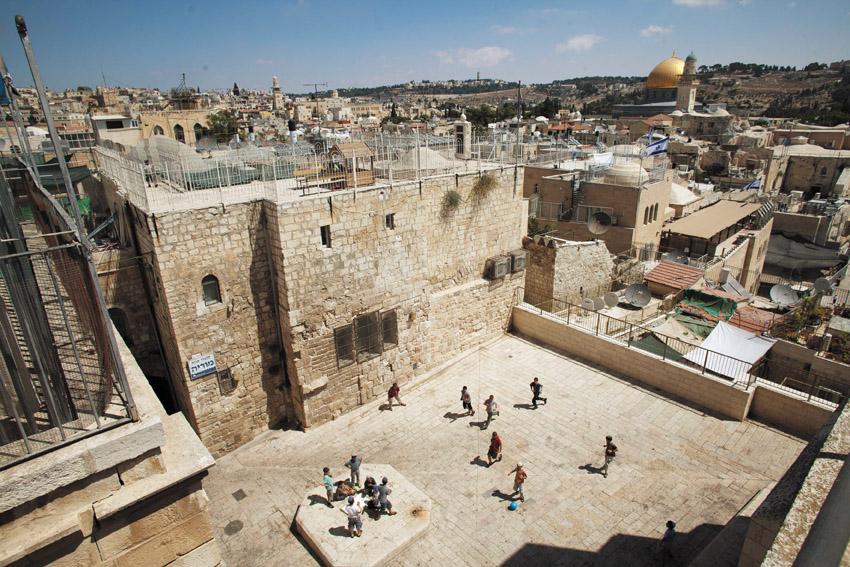 הרובע היהודי (צילום: אמיל סלמן)