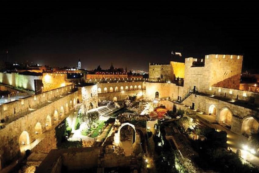 מוזיאון מגדל דוד (צילום: הילגר נפתלי)