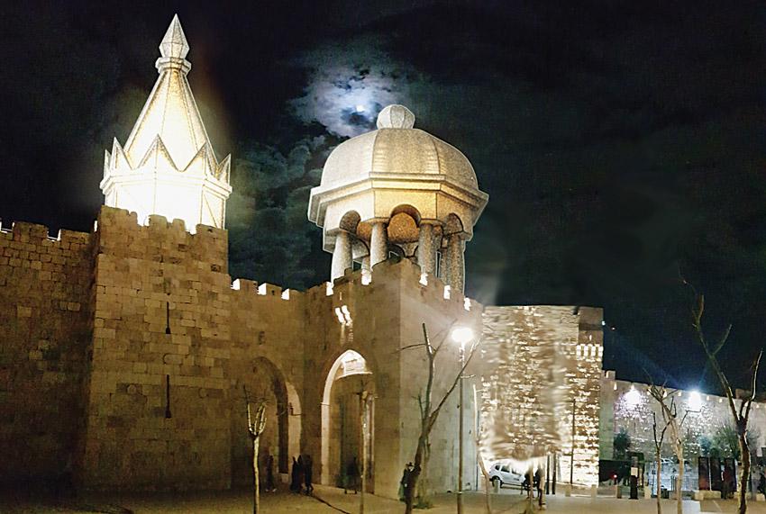 פסטיבל צלילים בעיר העתיקה (צילום: פסטיבל האור)