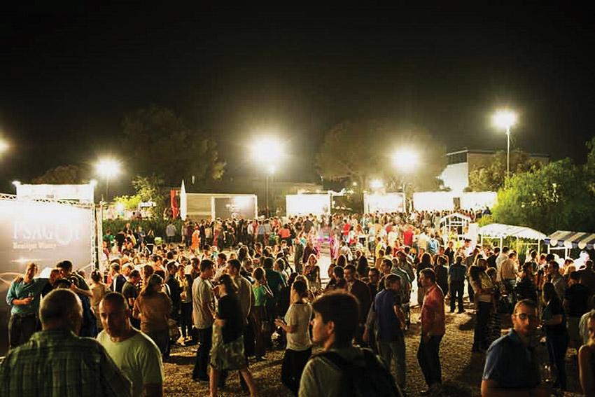 פסטיבל היין (צילום: ברק אהרון, באדיבות מוזיאון ישראל)