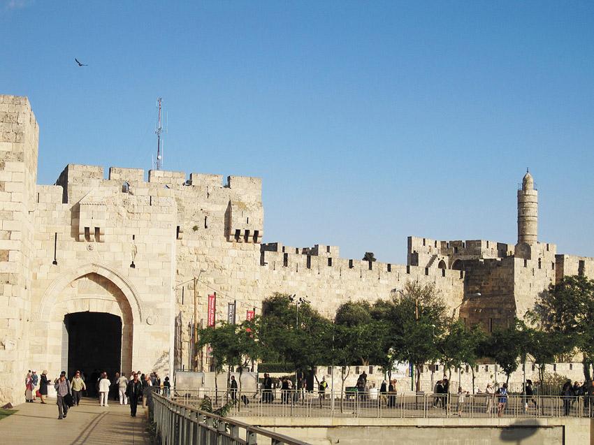 שער יפו (צילום: Yoninah)