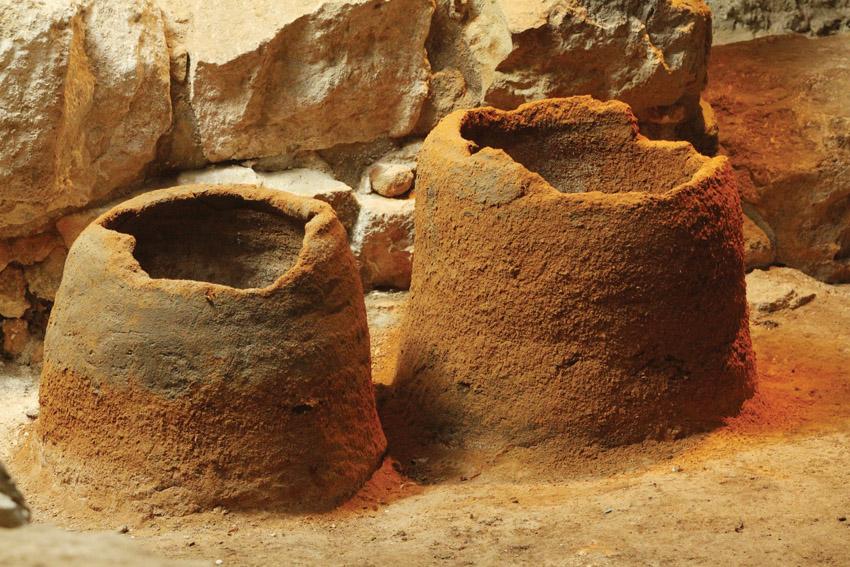 פריטי ארכיאולוגיה בעיר דוד (צילום: באדיבות החברה לשיקום ופיתוח הרובע היהודי)