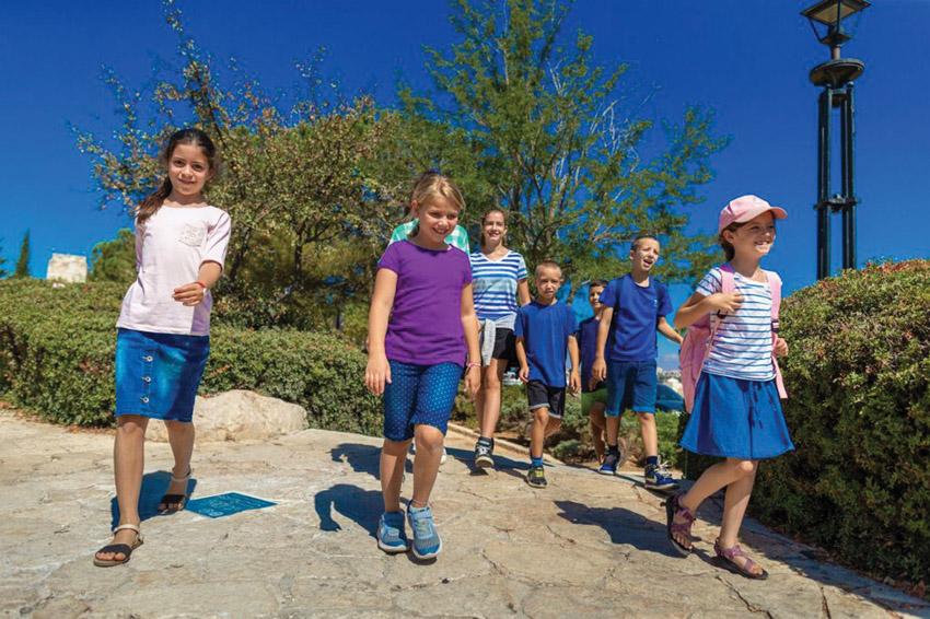 סיורי קיץ לילדים (צילום: אליהו ינאי)
