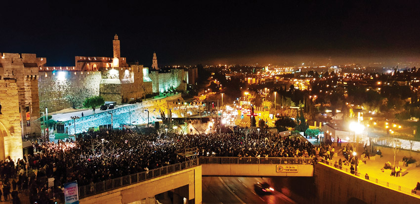 פסטיבל צלילים בעיר העתיקה (צילום: שמואל כהן)