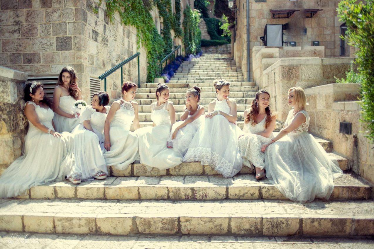 סלון לואיזה שמלות כלה (צילום: יוליה ליסיצ'ה)