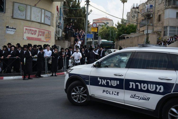 מחאת החרדים הקיצוניים (צילום: דוברות המשטרה)