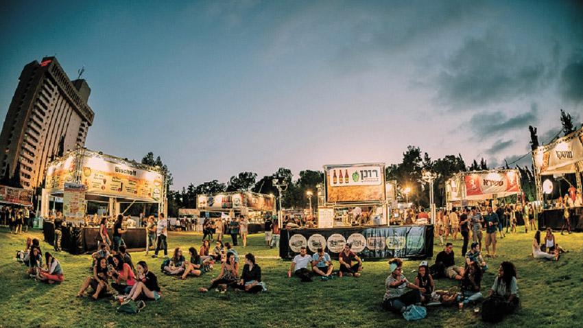 פסטיבל הבירה (צילום: נתנאל טוביאס)