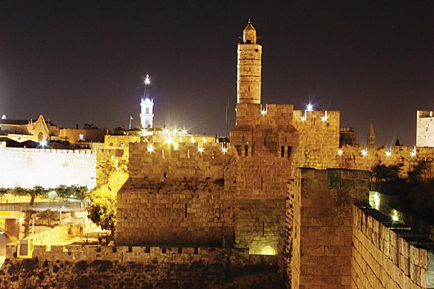 מוזיאון מגדל דוד (צילום: פמ''י)
