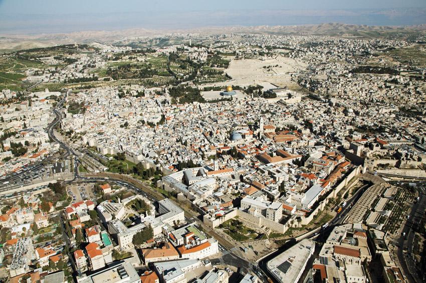 ירושלים, תערוכת ההר מוזיאון מגדל דוד (צילום: דובי טל)