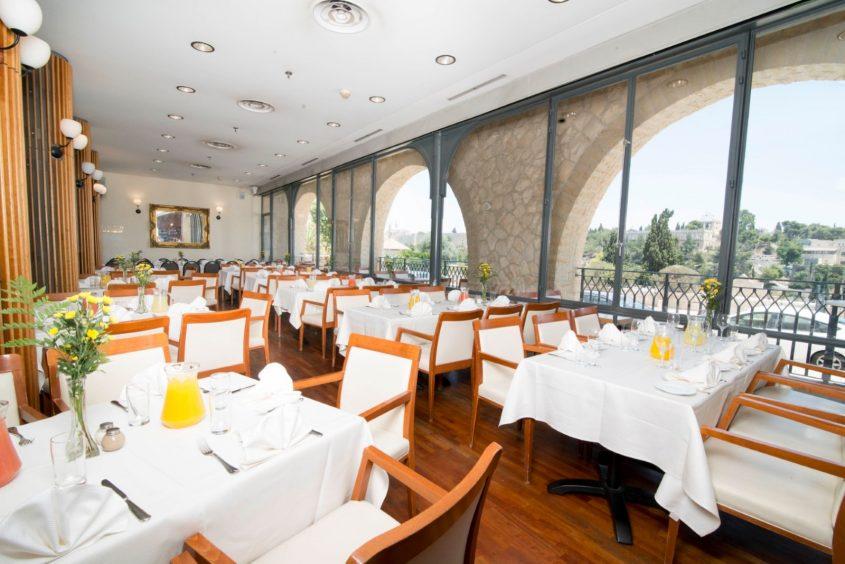 מסעדת מונטיפיורי (צילום: מאיר בן הרוש)