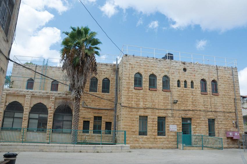 בית הספר אוולינה דה רוטשילד (צילום: Mickytc)