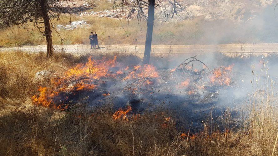 התדהמה במשטרת ירושלים: ילדים בני 12 חשודים ב-70 הצתות באזור בית שמש; הסיבה – תחרות ושעמום