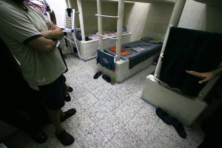 בית המעצר במגרש הרוסים (צילום: דניאל בר און, ג'יני)