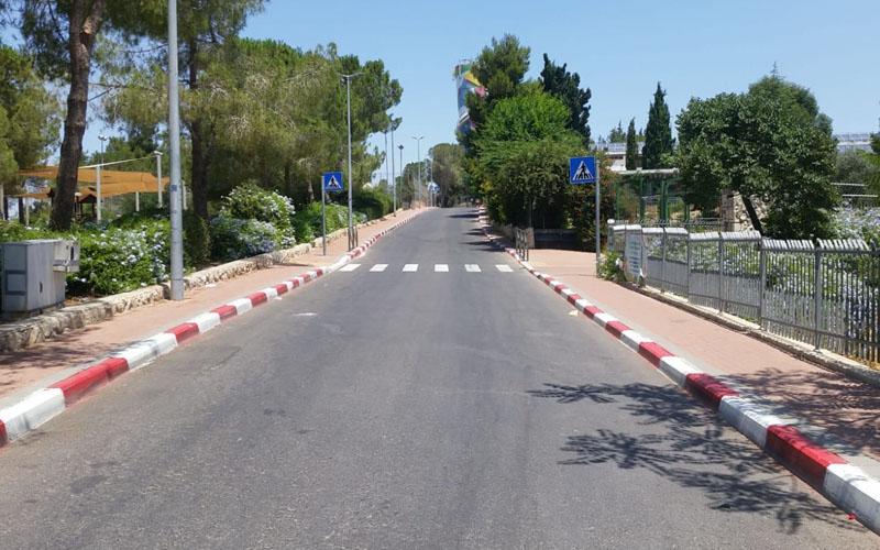 רחוב דהומיי בקרית מנחם (צילום: שלומי הלר)