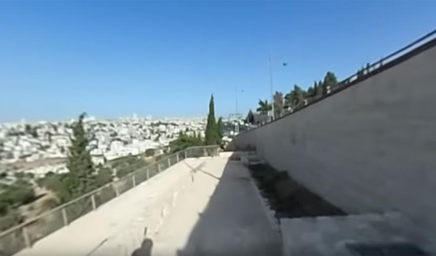 שביל האופניים החדש: שני קילומטרים מפותלים עם נופים ירושלמיים מרהיבים