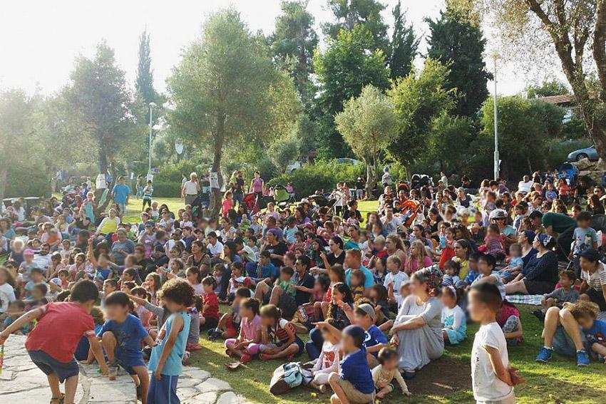 פעילות שבת בירושלים (צילום: ברלה)