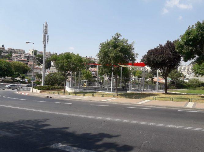 גן השעשועים החדש בגבעת משואה (צילום: פרטי)