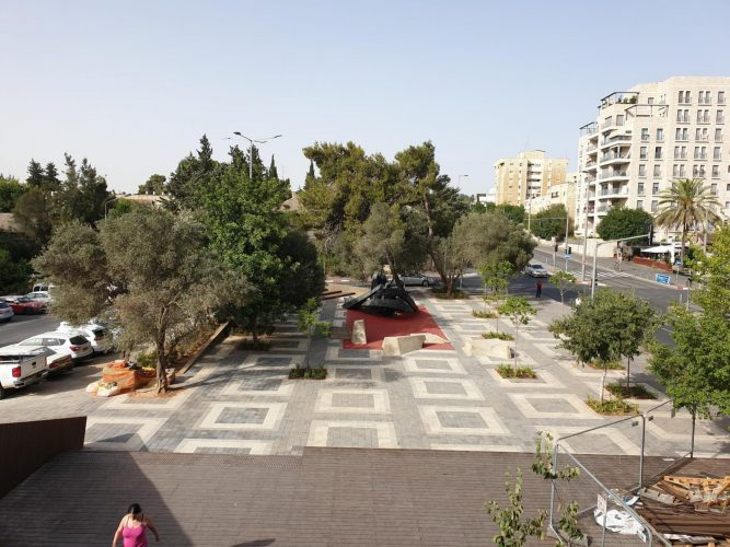 כיכר דניה, בית הכרם (צילום: באדיבות חברת עדן)