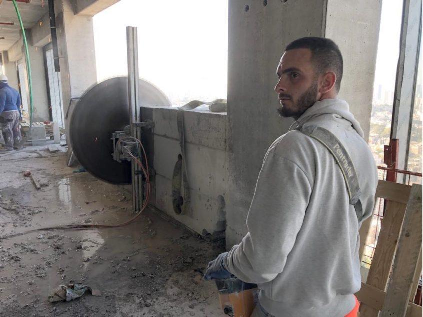 אחים כהן ניסור וקידוח בטון (צילום: פרטי)