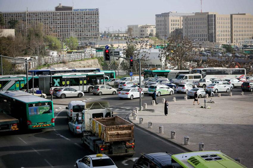 הכניסה לירושלים (צילום: אורן בן-חקון)
