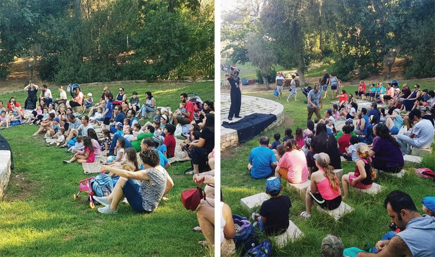 פעילויות השבת של העירייה בשבועות האחרונים (צילומים: פרטי)