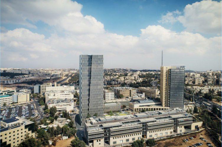 """המגדל החדש של גט""""י הר חוצבים (הדמיה: 3D VISION)"""