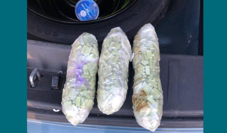 חבילות האקסטזי שנתפסו (צילום: דוברות המשטרה)