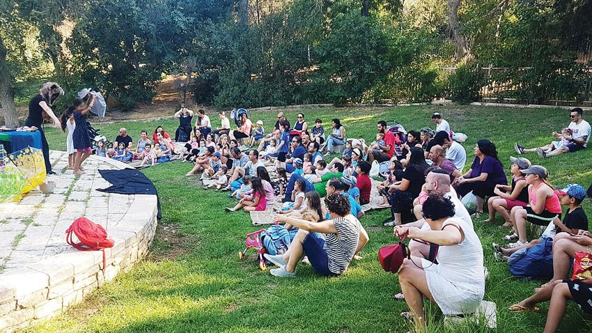 פעילות שבת של העירייה בשבוע שעבר (צילום: פרטי)
