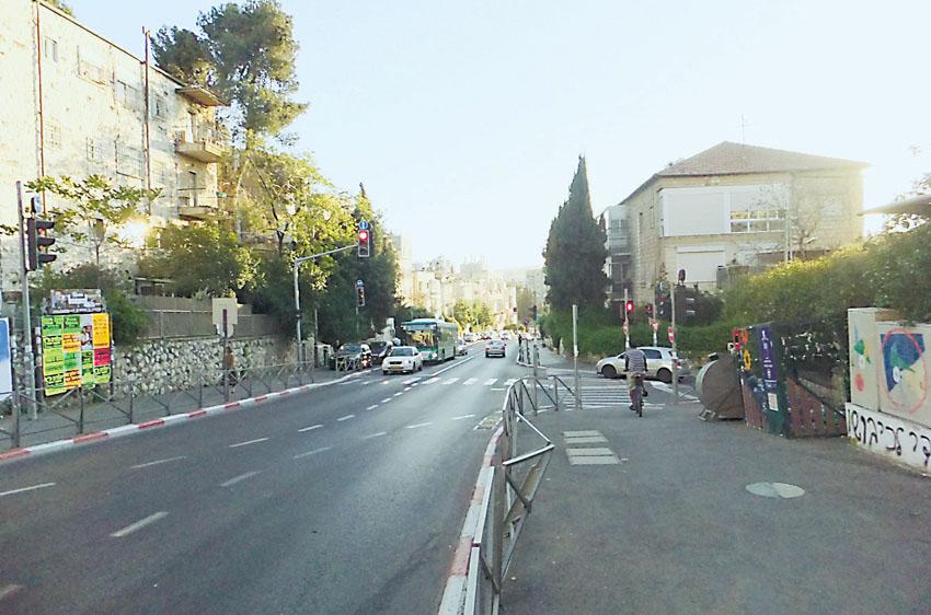 רחוב עזה (צילום: רון כהן)