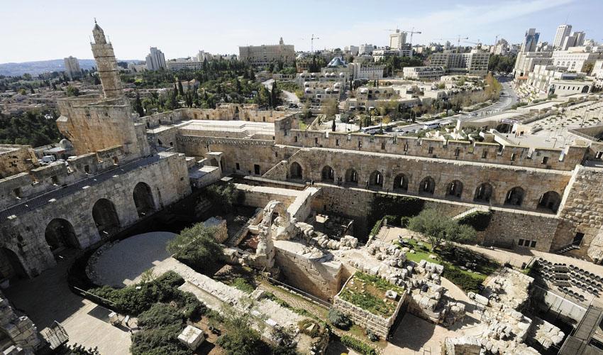 מוזיאון מגדל דוד (צילום: איתי מוניקדם)