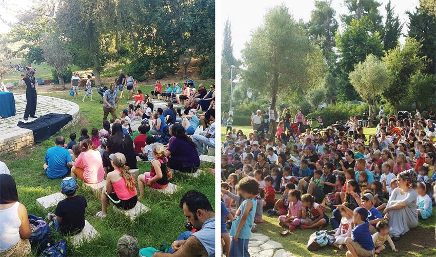 אירועי 'שבת ירושלמית' בשבועות קודמים (צילומים: ברלה, פרטי)