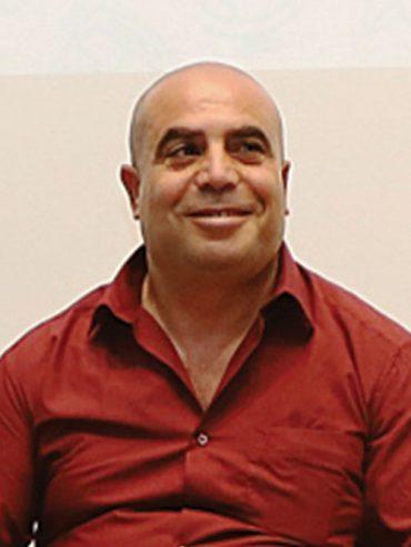 """יו""""ר מינהל קהילתי צור באהר רמדאן דבש (צילום: שלומי כהן)"""