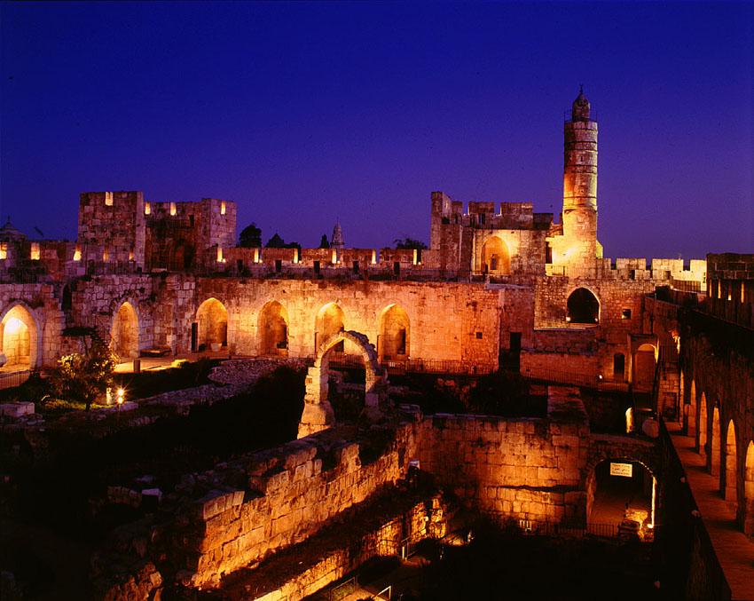 """מוזיאון מגדל דוד (צילום: יח""""צ)"""