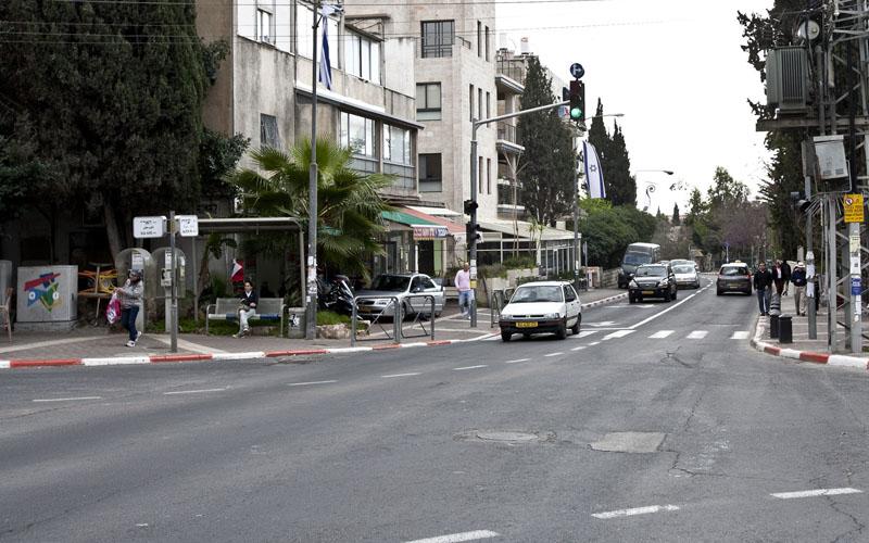 רחוב עזה (צילום: מגד גוזני)