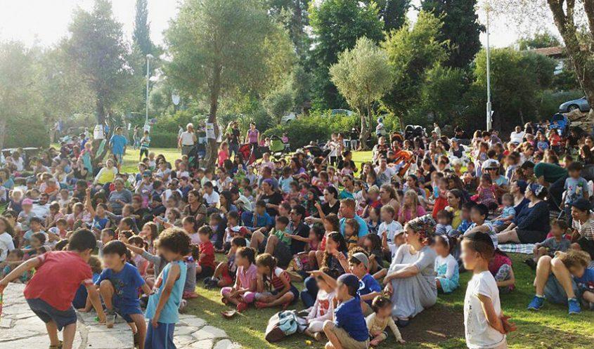 """מתוך פעילות של """"שבת ירושלמית"""" (צילום: ברלה)"""