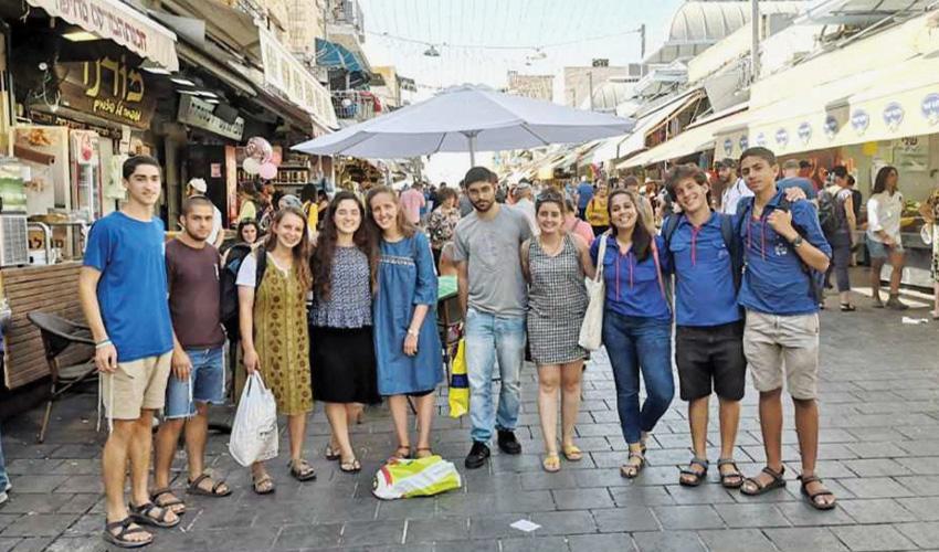 תנועות הנוער במעלה אדומים סוגרות שנה