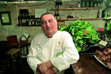 שף משה בסון (צילום: אורן בן-חקון)