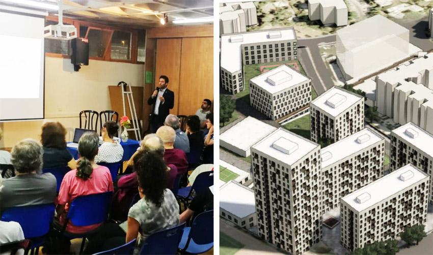 הכנס בבית הכרם, הדמיה של התוכנית (הדמיה: משרד אדריכלים אדמה - ADMA; צילום: רון לרמן)