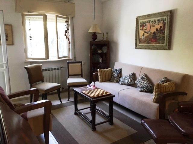 הדירה ברחוב בנימין מטודלה, רחביה (צילום: יואל זלצמן)