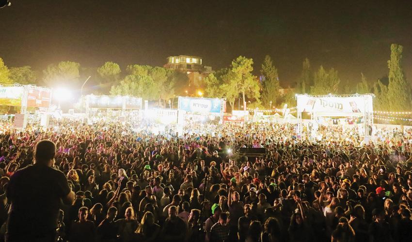 פסטיבל הבירה בירושלים בשנה שעברה (צילום: עידו ניתאי)