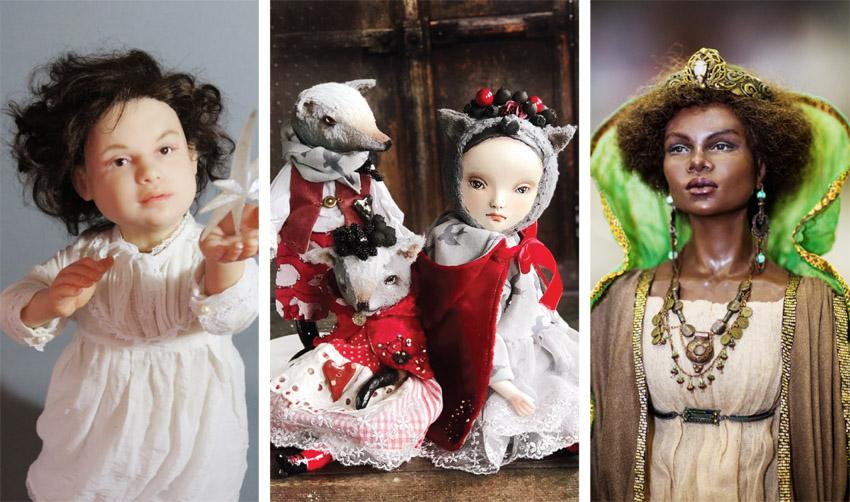 """תערוכת הבובות """"Art & Dolls Expo Jerusalem"""" (צילומים:Aleksey Mashutikov, ג'ני ליבינזון, האמנית אוקסנה מורטובה)"""