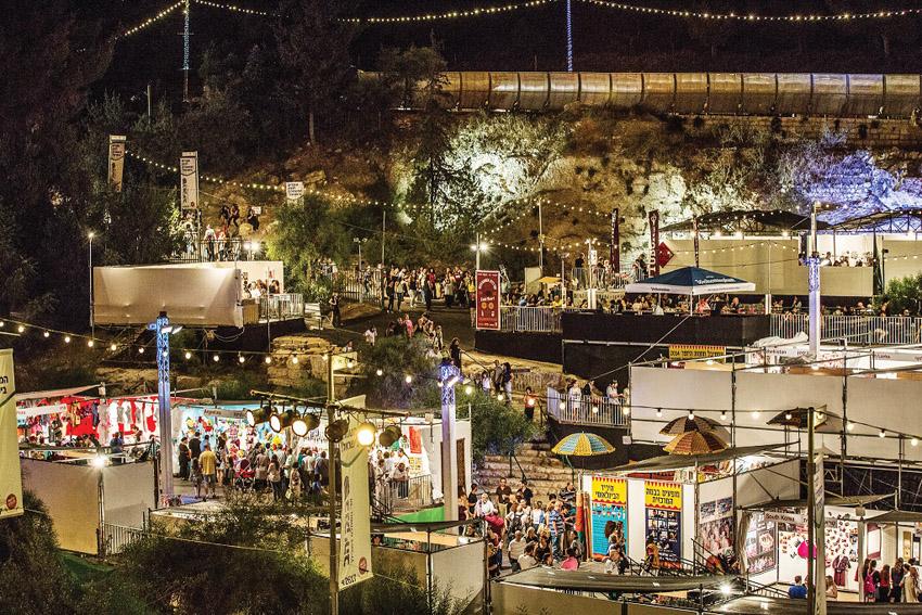 פסטיבל חוצות היוצר בשנה שעברה (צילום: דוד סעד)