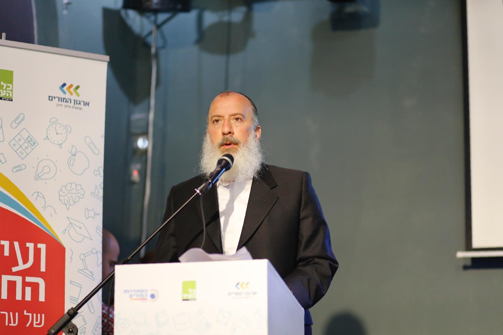 סגן ראש העיר יוסי דייטש (צילום: מעיין סבאג)