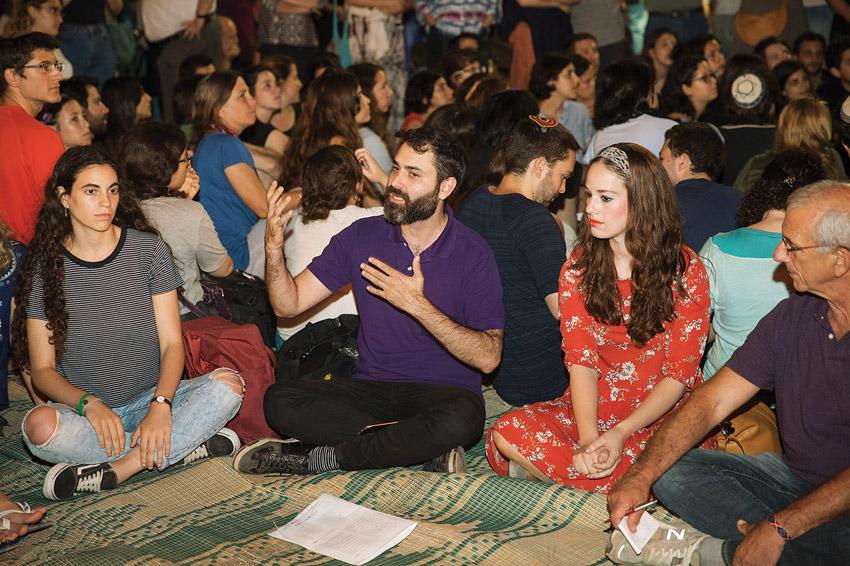 ערב 'איכה - יוצרים שיחה' בשנה שעברה (צילום: נועם פיינר)