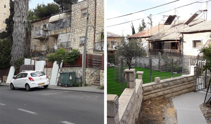 הבניין שבו מקימה העירייה גני ילדים בגבעת מרדכי (צילומים: שלומי הלר)
