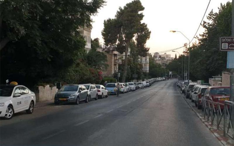 """רחוב הפלמ""""ח (צילום: מתוך מצגת של מינהל קהילתי גינות העיר)"""