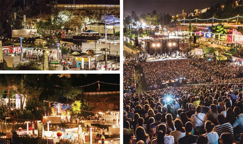 פסטיבל חוצות היוצר בשנה שעברה (צילומים: דוד סעד)