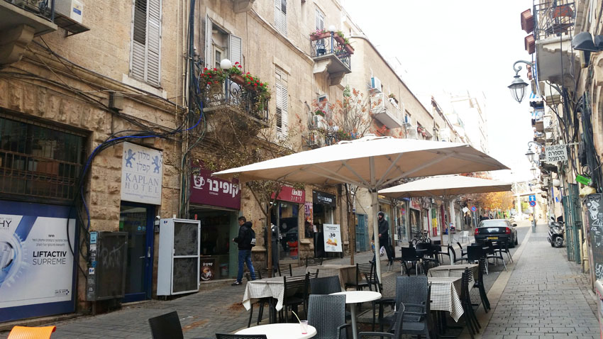 רחוב חבצלת (צילום: סיגל קליין)