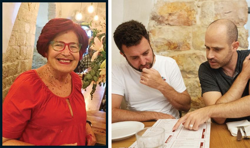 """עמית אהרנסון ויהונתן כהן, נאווה ביבי ז""""ל (צילומים: יובל כהן אהרונוב, מתוך פייסבוק)"""