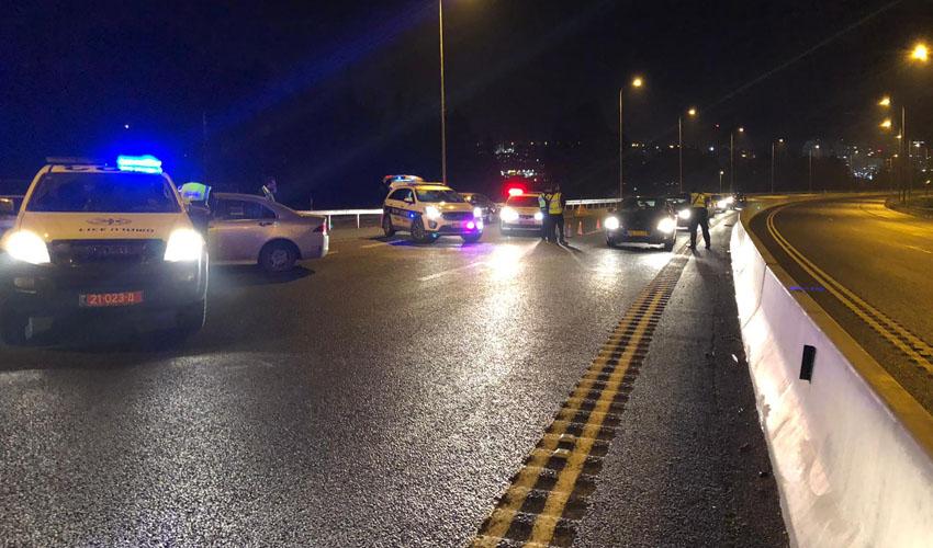 פעילות משטרת ירושלי במהלך סוף השבוע (צילום: דוברות המשטרה)